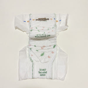 Made in china high quality fast absorbing adult baby cloth diaper pants