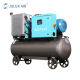 7.5KW 10HP Energy Saving Low Noise Portable Mini Combined Screw Air Compressor with 175L Air Tank for Sale