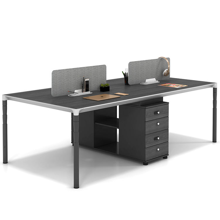 Wholesale Low Price Modern 2 4 6 Person Computer Partition Office Workstation