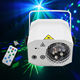 Disco Laser Lights 2 Lens+1 RGB Ball DJ Party Stage Light Sound Activated Led Projector for Halloween Decorations Gift Birthday