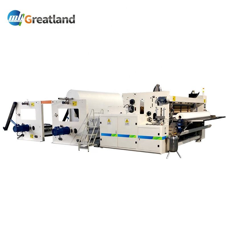 Glm 1500 Automatically Toilet Paper Product Rewinding Embossed Processing Machine Making Toilet Paper Small Roll