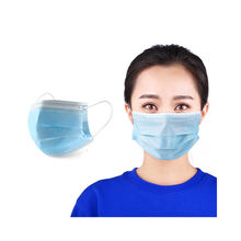 Wholesale Disposable Personal Non Woven 3 Layers Face Mask