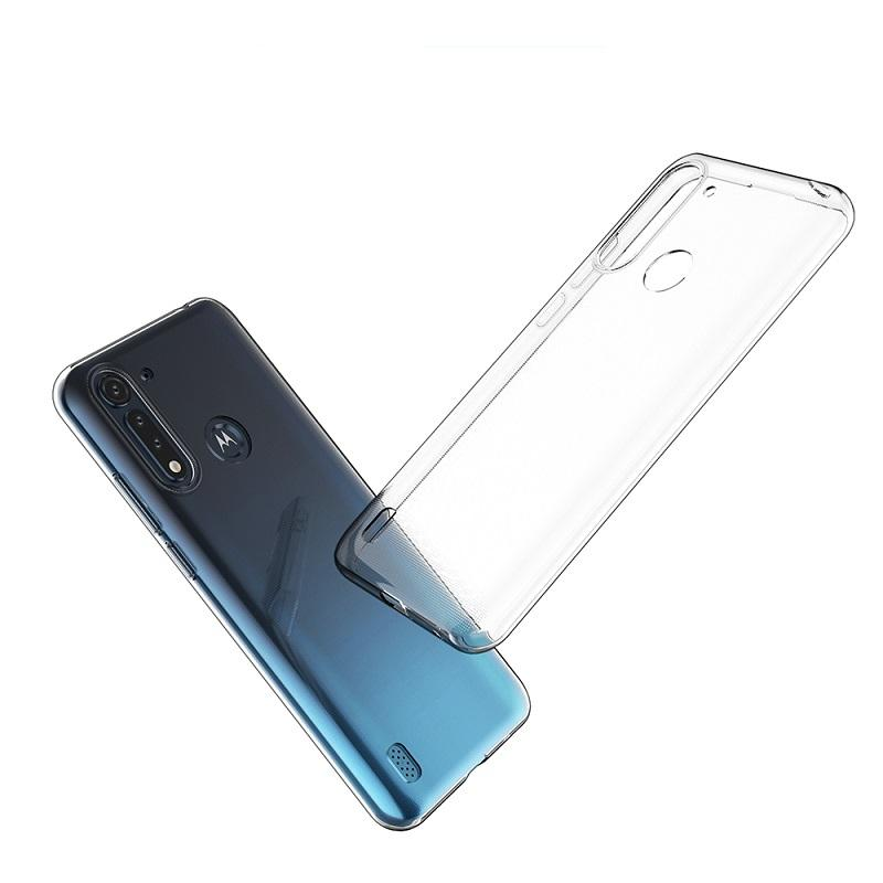 Soft Transparent Clear Cellular Covers Phone Case for Motorola G8 Plus Power P40 P50 One Vision