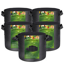 3 Gallon 5 Gallon 7 Gallon 10 gallon 100 gallon 200 gallon Aeration Fabric Plant Grow Garden Potato felt  planter  grow bags