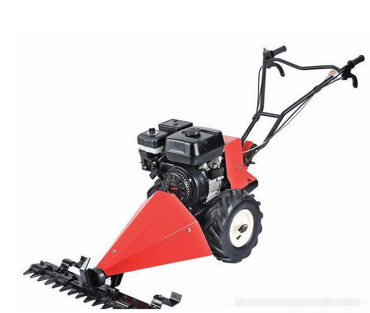 Self-propelled diesel gasoline grass brush cutter lawn mower