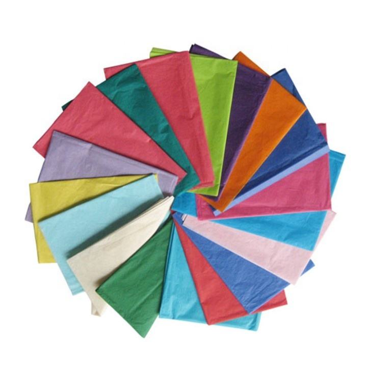 M G coloured Tissue paper