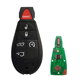 5+1 Buttons 433 Mhz ID46 Chip Remote Control Car Key For Chrysler Jeep Dodge Grand Caravan Durango Charger Journey