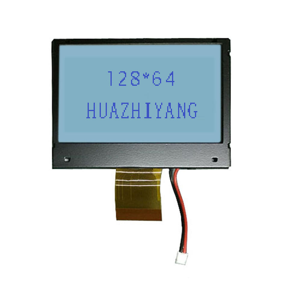 China lieferant 128x64 dots grafik modul digitale uhr mini cog lcd display mit wireless