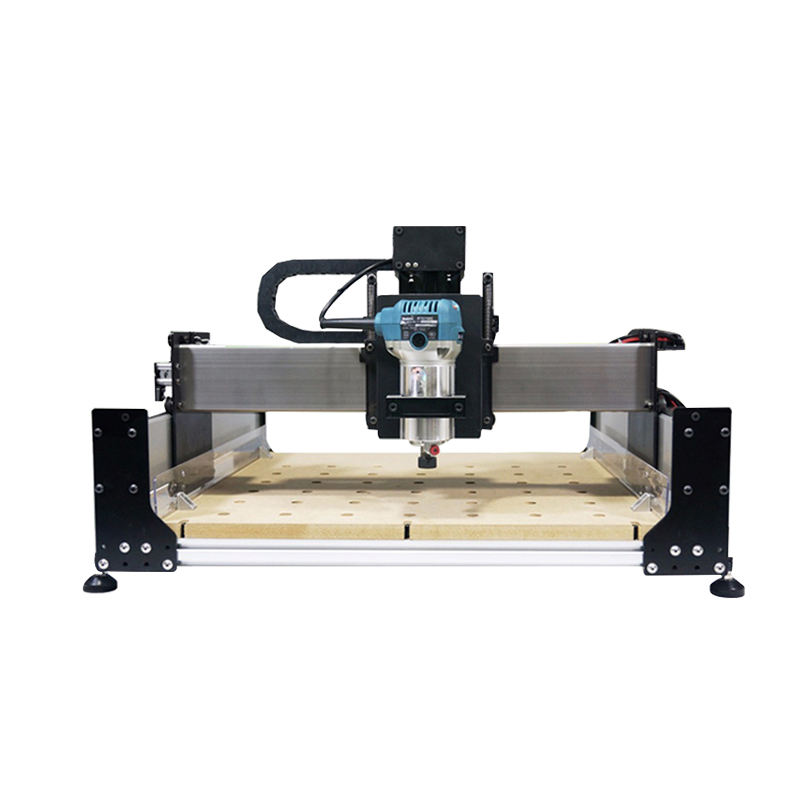 120120 CNC 700W engraving machine DIY machining medium wood engraving