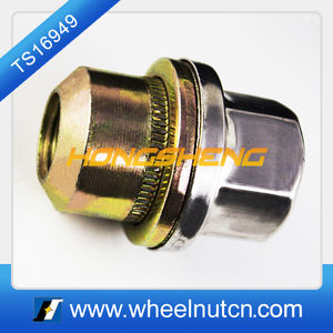 27mm Hex Alloy Steel Wheel Lug Nut for Land Rover