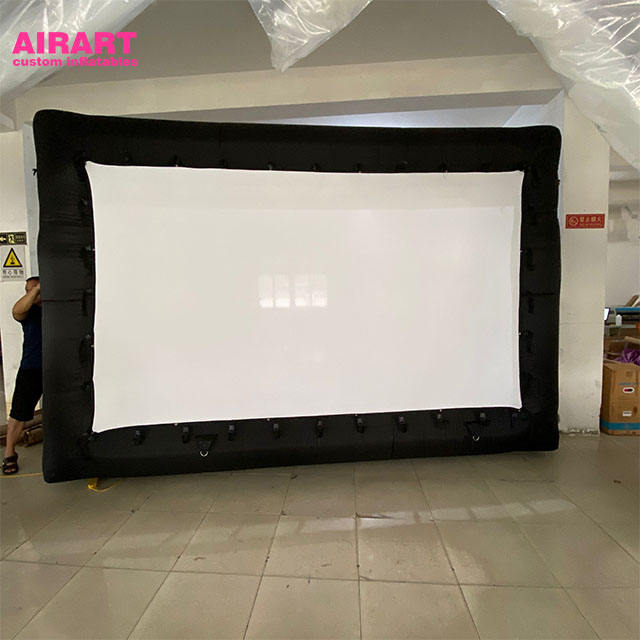 Blow Up Giant Outdoor Movies Inflatable TV Screen Open Air Cinema Inflatable Movie Screen