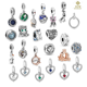 Wholesale 925 sterling silver charms for bracelets high quality dangle charms