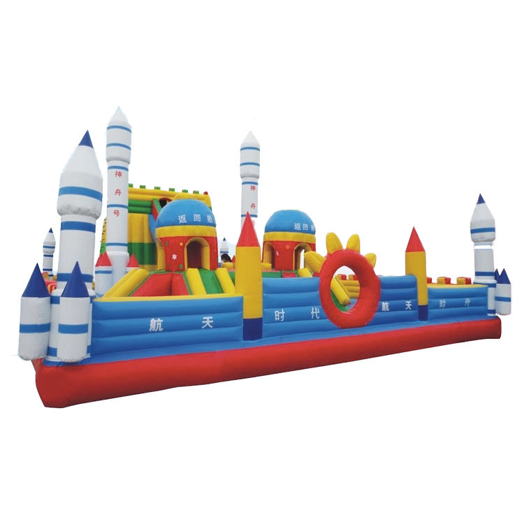 Children favorite toy outdoor playground inflatable castle bounce house