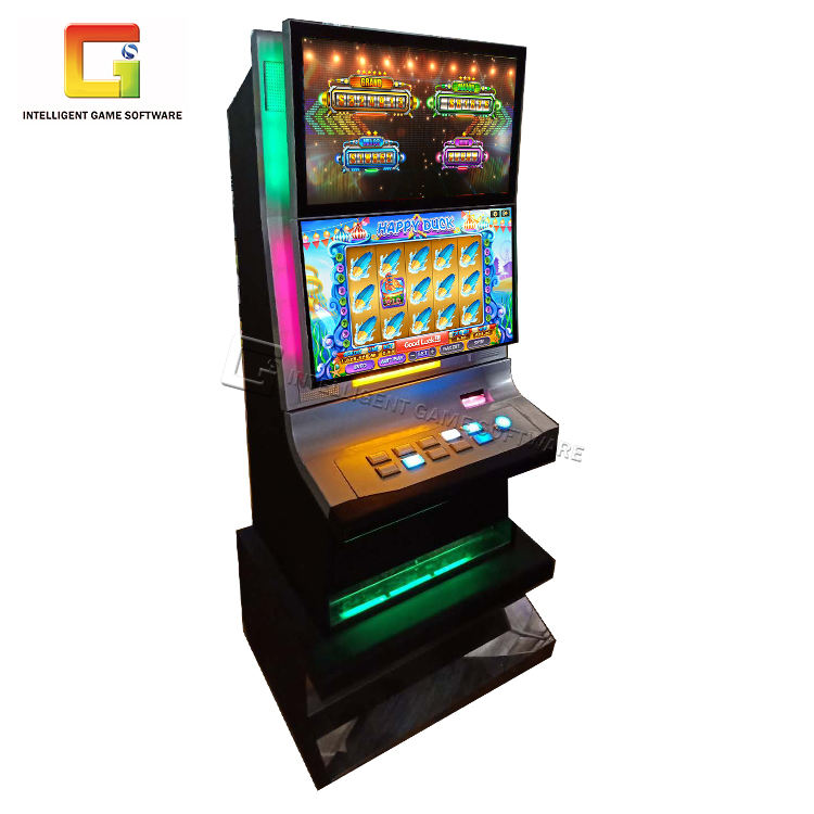 "2021 High Profit 32"" Touch Screen Arcade Multi Slot Game Machine For Game Room"