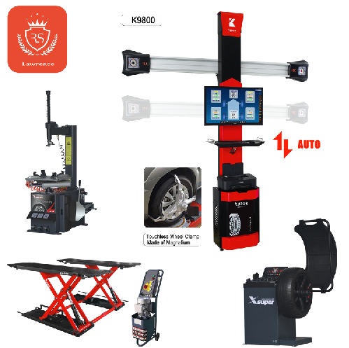 Hot Sell Garage Equipment Combo with Intelligent Wheel Alignment