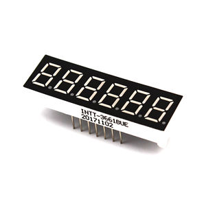 Rosso 6 cifre 7 segmenti led display 0.36 inch 6 digit 7 segmenti orologio digitale a led display