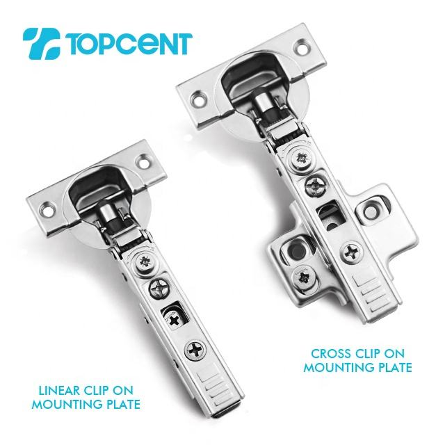 Concealed Hinge Topcent New Type Small Angle 3D Adjustable Furniture Kitchen Cabinet Concealed Soft Close Hinge For Furniture