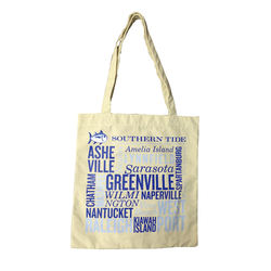 bag tote custom shopping bags  beach canvas tote bags