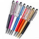 New & hot good quality with great price standard size crystal diamond ball pen stylus pen