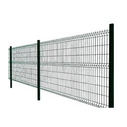 Metal fences from  welded grid garden fencing