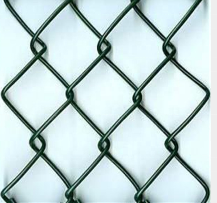 Stainless Steel PVC Coated Chian Link Fence Netting for Farm Goat Security Barrier