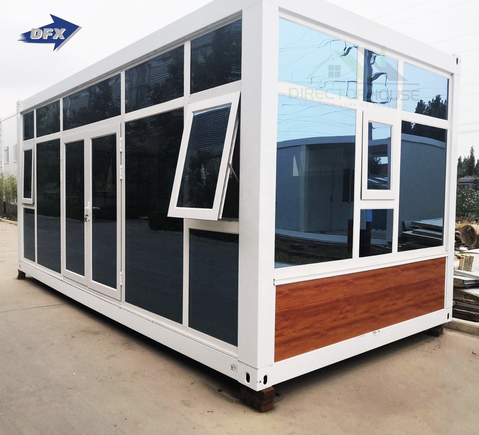 2 storeys flat pack prefab portable container house living home