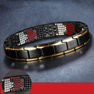 350Pcs magnets 316L stainless steel germanium magnetic pain relief bio bracelet