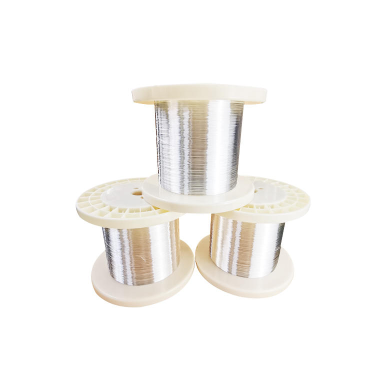stranded silver plated copper wire 16 gaq 24 gauge clad copper wire litz foil wire for jewelry