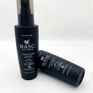Private Label MASC. Fashion Organic Argan Oil Fast Drying Strong Hold Hair Styling Spray