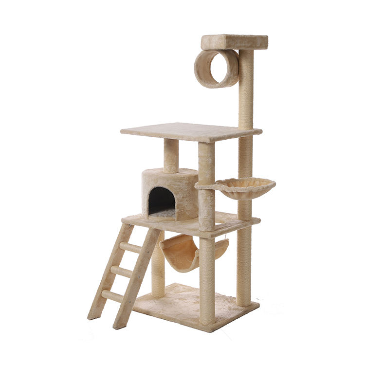 2020 new design cat tree condo big luxurious fun furniture climbing scratcher cat tree tower