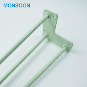 Mosnoon Good Quality Metal Plating Furniture Table Legs 3 Rod Furniture Hairpin Legs