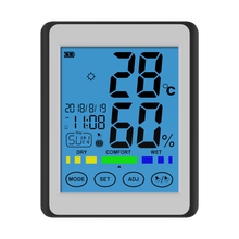 CH-913 Thermometer Humidity Monitor Wireless Temperature Indoor Outdoor Temperature Hygrometer LED Backlight