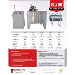 Spent Solvent Recovery Unit