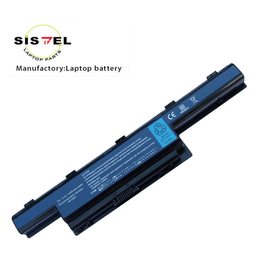 AS10D31 Rechargeable External Lithium ion Laptop Battery 10.8v 4400mAh 5200mAh for 4741 4551 TravelMate 4740