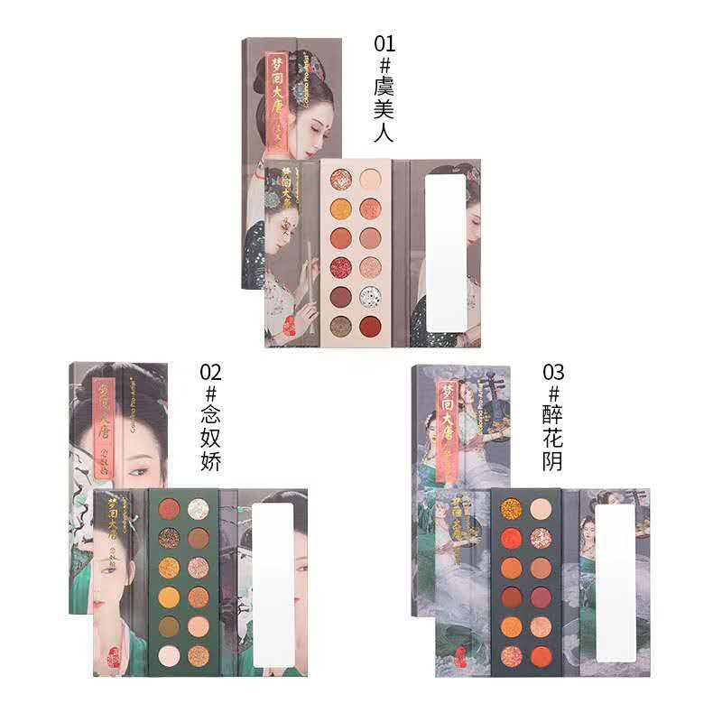Colorina Best price High Quality Factory Manufacturer Eyeshadow Palette Makeup Cosmetics enchanted princess Eyeshadow palette