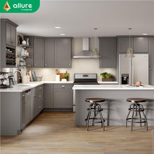 Allure cheap customized laminate modern kitchen manufacturing designs