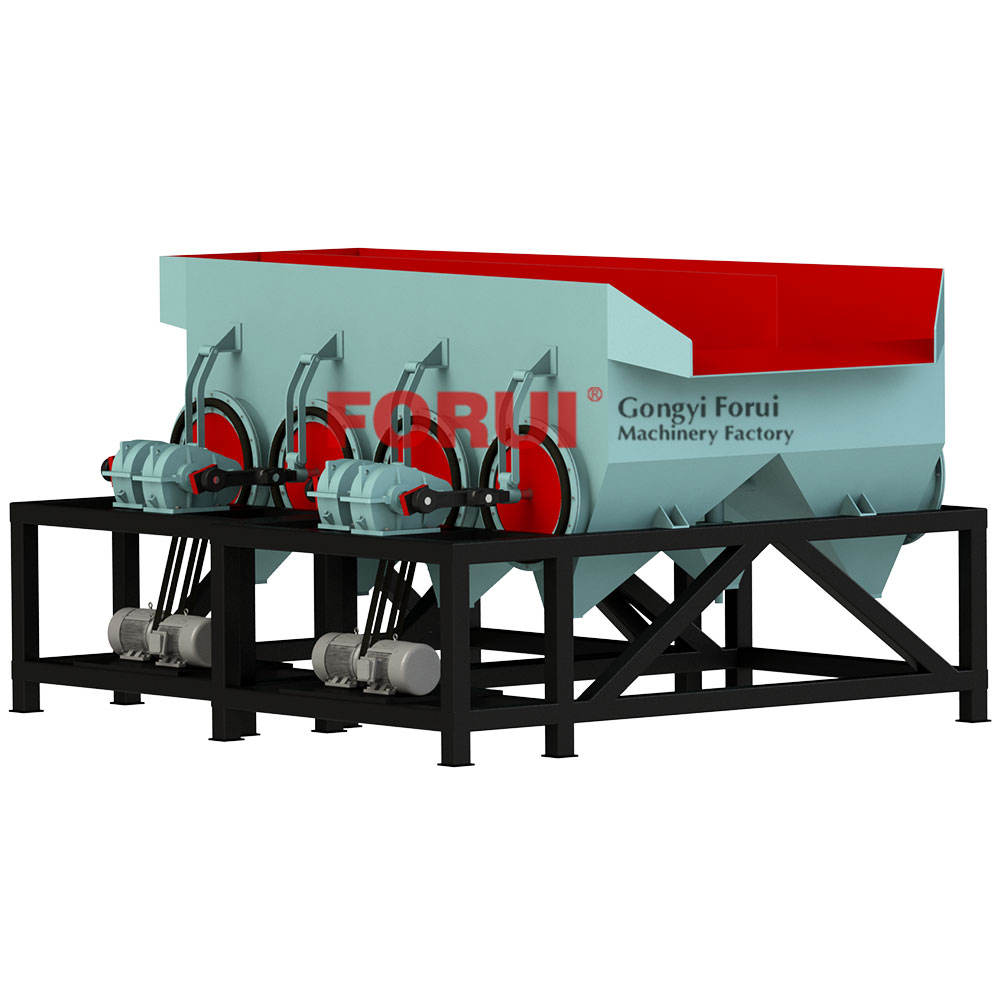 Jig machine/jig concentrator/mineral jig for material gravity separation