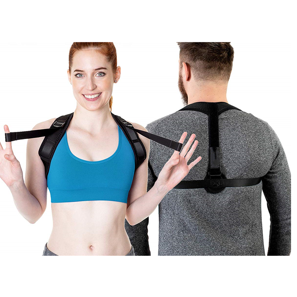 Corrective Posture Clavicle Band Kyphotone With Reflective Stripe Body
