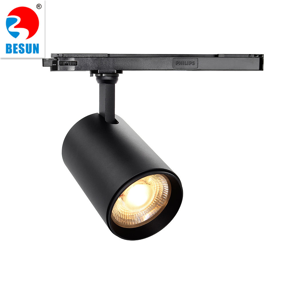 Switchable Dali Dimmable Clothing Shop Euro Led Track Lighting Systems Cob Led Spotlight Led Track Light Rail 30w 10w 20w 40w