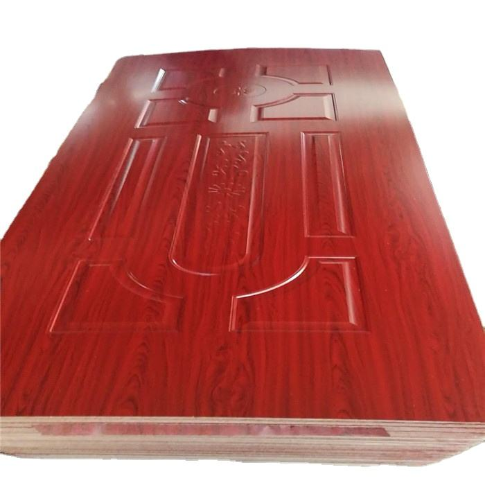 3mm moulded HDF door skin / melamine door skin