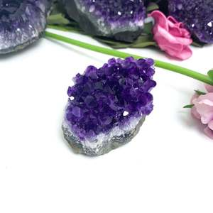 Amazing Beautiful Natural Large Points Rough Amethyst Quartz Crystal Cluster Cheap Prices