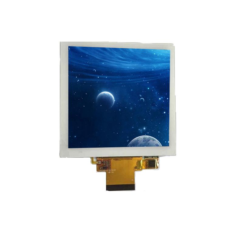 Personalizado cuadrado LCD Display 4 pulgadas 720*720 TFT LCD módulo para casa inteligente/Raspberry Pi/consumidor electrónica