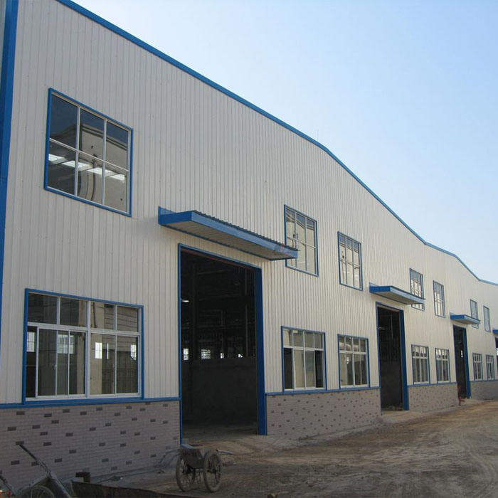Prefabricated Industrial auto parts logistic shipping Warehouse/Workshops/Metal Habitaciones Prefabricadas Insonorizadas