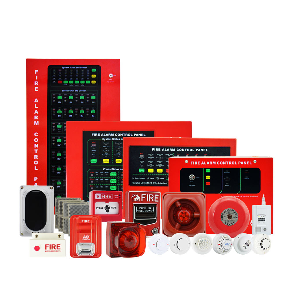 Fire Alarm Control Panel 4/8/16/32 Zones Conventional