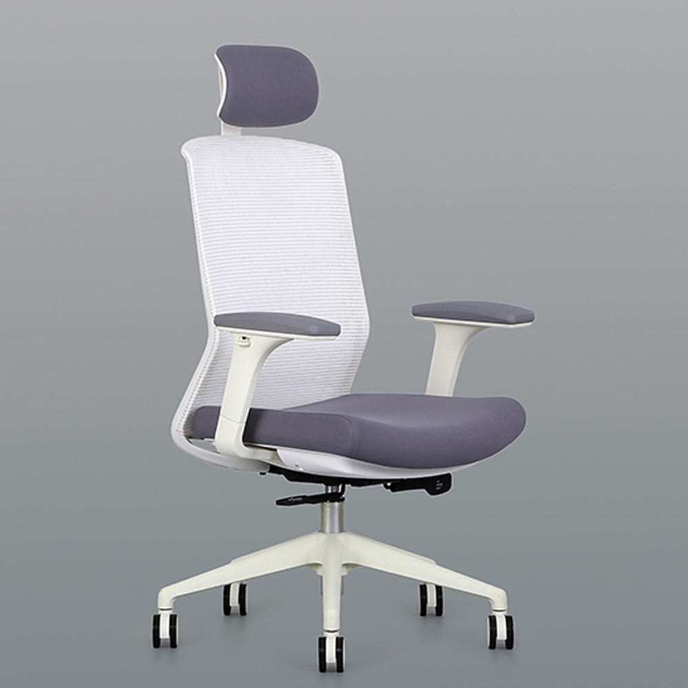 UP Manufacturer Commercial Furniture 4D Adjustable Mesh Chair Ergonomic Mid Back Office Chair with headrest