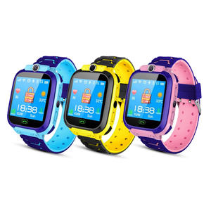 Child Watch 2020 Newest Model Q12 Kids Smart Watch Waterproof SOS Smartphone LBS Multi-lingual baby watch For boys and girls
