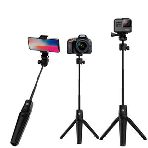 K21 plus 3 En 1 Extensible 1060mm Trépied En Alliage D'aluminium Sans Fil Télécommande Universelle 360 Rotation Flexible Selfie Bâton