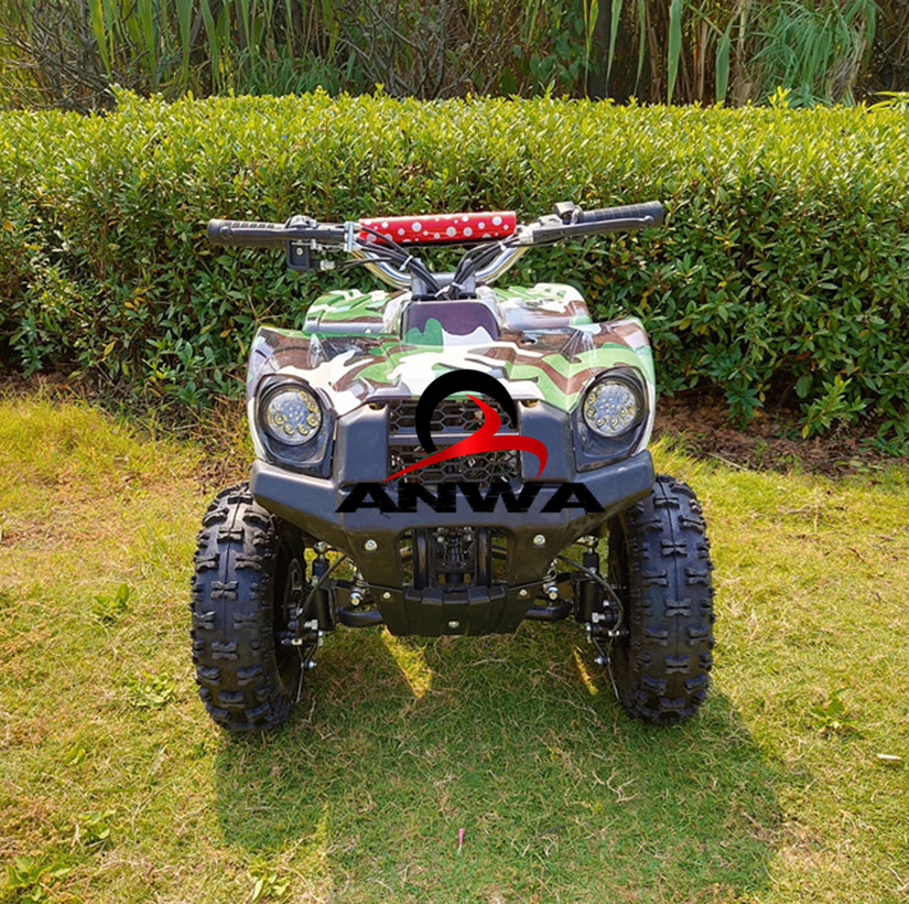 Children's 49cc mini quad atv 2 stroke 4 wheeler