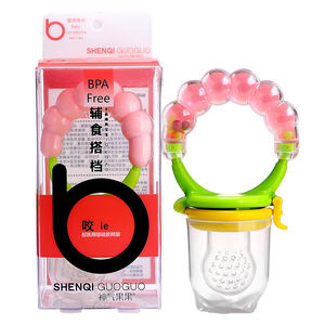 Silicone Pacifier Fresh Fruit Food Baby Feeder