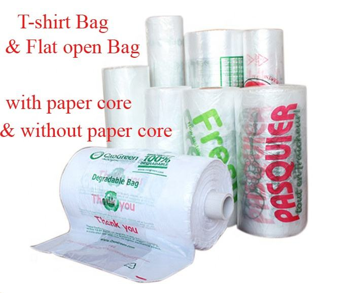 Plastic Bags Making Printing Machine Malls Supermarkets and Garbage Machines Shopping Bag